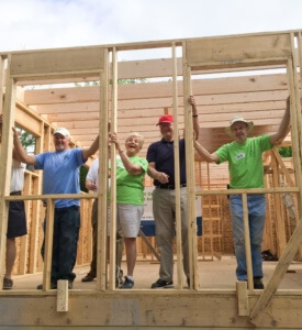 Flower City Habitat for Humanity is able to help about ten families a year achieve their goals of homeownership. So much of our success is because of dedicated volunteers!